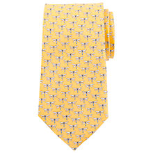 Buy John Lewis Dragonfly Print Silk Tie Online at johnlewis.com