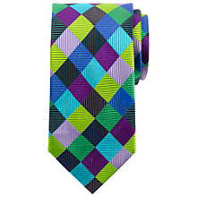 Buy John Lewis Harlequin Silk Tie, Multi Online at johnlewis.com