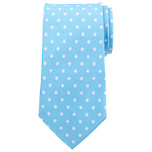 Buy John Lewis Flower Print Silk Tie Online at johnlewis.com