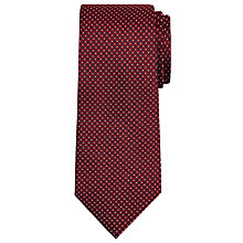 Buy John lewis Semi Plain Coloured Base Tie Online at johnlewis.com
