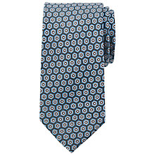 Buy John Lewis Hexagon Print Silk Tie Online at johnlewis.com