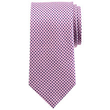 Buy John Lewis Semi Plain Coloured Base Silk Tie Online at johnlewis.com