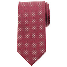 Buy John Lewis Twill Dot Silk Tie Online at johnlewis.com