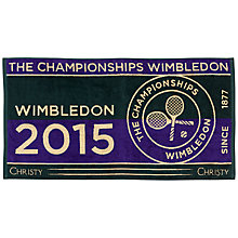 Buy Wimbledon Men's Championship Towel Online at johnlewis.com