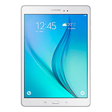 "Buy Samsung Galaxy Tab A Tablet, Snapdragon 400, Android, 9.7"", 16GB, Wi-Fi & 4G LTE Online at johnlewis.com"