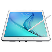 "Buy Samsung Galaxy Tab A Tablet and S Pen, Snapdragon 400, Android, 9.7"", 16GB, Wi-Fi Online at johnlewis.com"