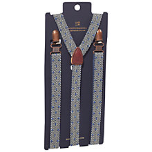 Buy Scotch & Soda Chevron Dot Braces, One Size, Blue Online at johnlewis.com