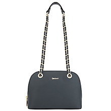 Buy DKNY Bryant Park Saffiano Small Chain Shoulder Bag, Petrol Online at johnlewis.com