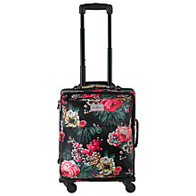 Buy Cath Kidston Bloomsbury Bouquet Print 50cm Cabin Suitcase, Black/Multi Online at johnlewis.com