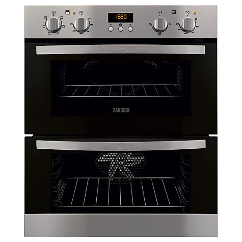 buy zanussi zof35511xk undercounter built in double oven. Black Bedroom Furniture Sets. Home Design Ideas