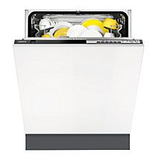 Buy Zanussi ZDT24001FA Fully Integrated Dishwasher Online at johnlewis.com