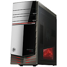 Buy HP Envy Phoenix 810-400na Desktop PC, Intel Core i7, 16GB RAM, 2TB+128GB SSD, Black Online at johnlewis.com