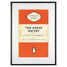 Buy Penguin Books - The Great Gatsby by F.Scott Fitzgerald, 72 x 52cm Online at johnlewis.com
