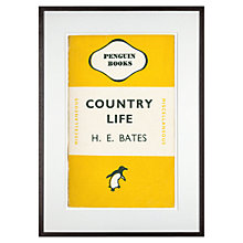 Buy Penguin Books - Country Life by H.E.Bates, 72 x 52cm Online at johnlewis.com