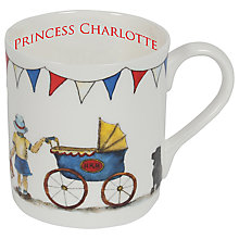 Buy Milly Green Princess Charlotte Mug Online at johnlewis.com