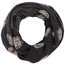 Buy Crea Concept Spot Knit Snood, Grey/Taupe Online at johnlewis.com