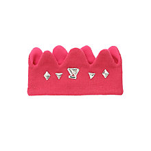 Buy John Lewis Princess Crown Headband, Pink Online at johnlewis.com