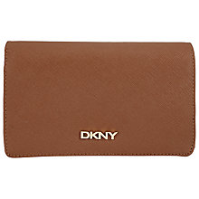 Buy DKNY Bryant Park Medium Saffiano Carryall Purse, Chocolate Online at johnlewis.com