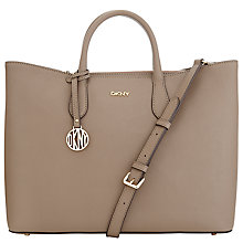 Buy DKNY Bryant Park Saffiano Top Zip Tote Bag Online at johnlewis.com
