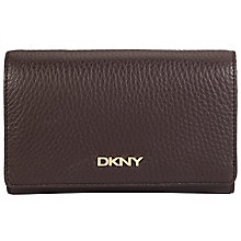 Buy DKNY Leather Tribeca Carry All Purse, Brown Online at johnlewis.com