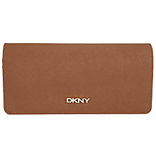 Buy DKNY Bryant Park Large Saffiano Leather Caryall Purse, Chocolate Online at johnlewis.com