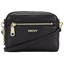 Buy DKNY Tribeca Wristlet Clutch Bag, Black Online at johnlewis.com