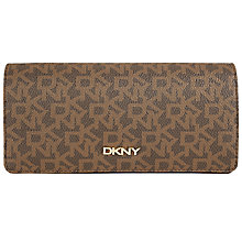 Buy DKNY Coated Carry All Purse, Brown Online at johnlewis.com