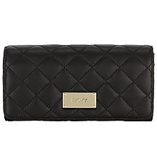 Buy DKNY Python Ganesvoort Quilted Nappa Large Carryall Purse, Black Online at johnlewis.com