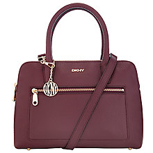 Buy DKNY Tribeca Double Zip Satchel Online at johnlewis.com