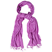 Buy White Stuff Dressy Street Scarf, Pink Online at johnlewis.com