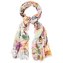 Buy White Stuff Birds Of Paradise Scarf, Multi Online at johnlewis.com