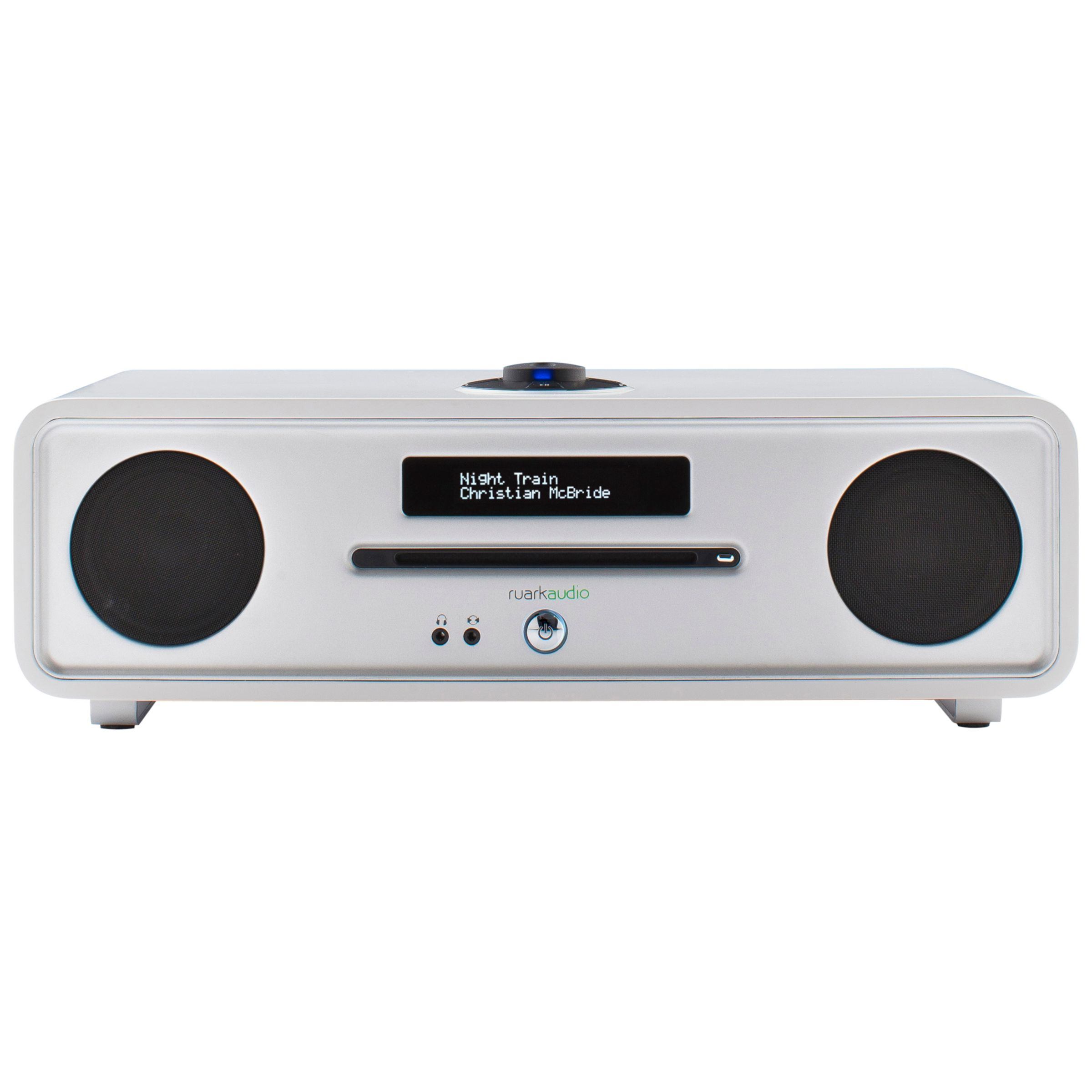 Ruark Audio Ruark R4 MK3 DAB/DAB+/FM Radio & CD Bluetooth All-In-One Music System with OLED Display