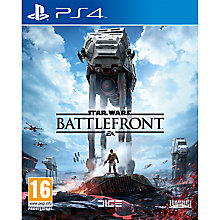 Buy Star Wars Battlefront, PS4 Online at johnlewis.com