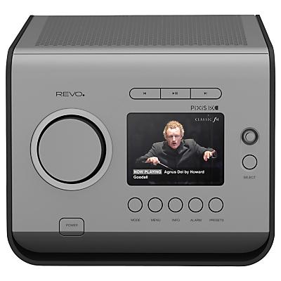 Revo PiXiS RX DAB DAB FM Internet Radio with DLNA & Spotify Connect