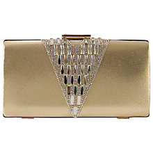 Buy Chesca Embellished Evening Clutch Bag, Gold Online at johnlewis.com