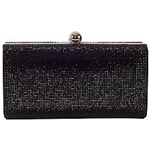 Buy Chesca Beaded Clutch Bag, Black Online at johnlewis.com