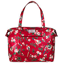 Buy Cath Kidston British Birds Shoulder Bag, Berry Online at johnlewis.com