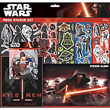 Buy Star Wars Episode VII: The Force Awakens Kylo Ren Mega Sticker Set Online at johnlewis.com