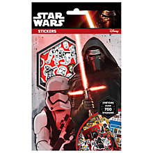 Buy Star Wars Episode VII: The Force Awakens 700 Sticker Set Online at johnlewis.com