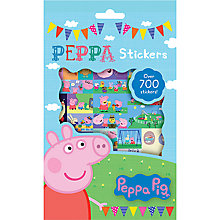 Buy Peppa Pig Stickers, Pack of 700 Online at johnlewis.com