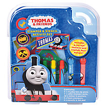 Buy Thomas & Friends Stamp & Stencil Activity Set Online at johnlewis.com