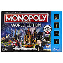 Buy Monopoly Here & Now World Edition Online at johnlewis.com