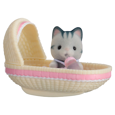 Sylvanian Families Cat Baby Carry Case