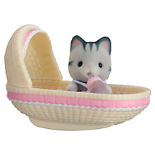 Buy Sylvanian Families Cat Baby Carry Case Online at johnlewis.com