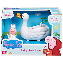 Buy Peppa Pig Once Upon A Time Fairy Tale Swan Online at johnlewis.com