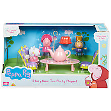 Buy Peppa Pig Once Upon A Time Storytime Tea Party Set Online at johnlewis.com