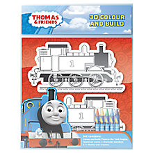 Buy Thomas & Friends 3D Colour & Build Set Online at johnlewis.com