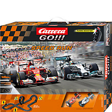 Buy Carrera GO!!! Speed Run Racing System Online at johnlewis.com