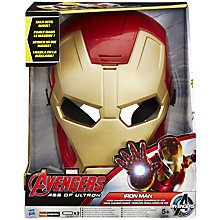 Buy The Avengers Voice Changer Mask, Assorted Online at johnlewis.com
