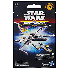 Buy Star Wars Episode VII: The Force Awakens Micro Machines, Assorted Online at johnlewis.com